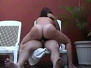 Bell And Friend Having Sex In The Back Yard