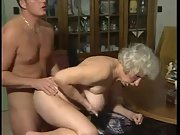 Grannys pussy getting some man meat