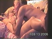 Granny Darby is having some great sex on my hidden cam