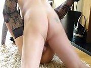 Scottish swinger wife amateur sex video, fucked on floor